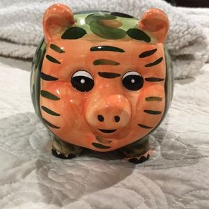 Ambiance Collections camouflage piggy bank